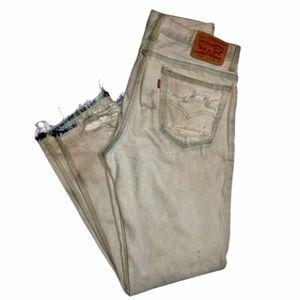 Vintage Bleached Levi's